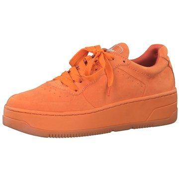 s.Oliver Plateau Sneaker orange