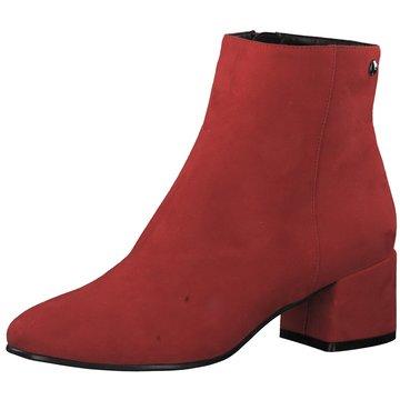 s.Oliver Klassische Stiefelette rot