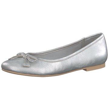 Jana Eleganter Ballerina silber