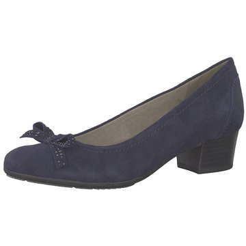 Jana Flacher Pumps blau