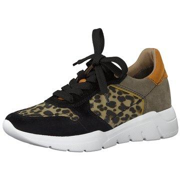 Jana Sneaker Low schwarz
