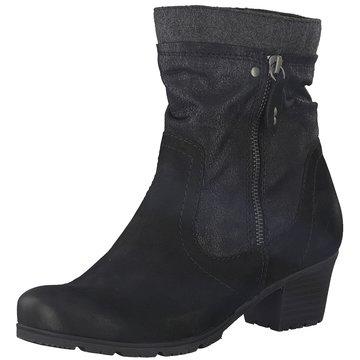 Jana Klassische Stiefelette schwarz