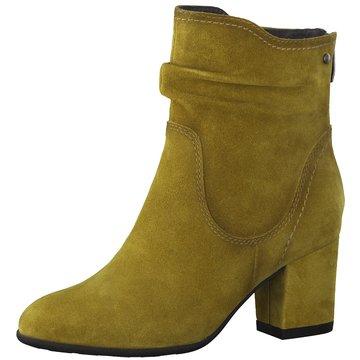 Be Natural Klassische Stiefelette gelb