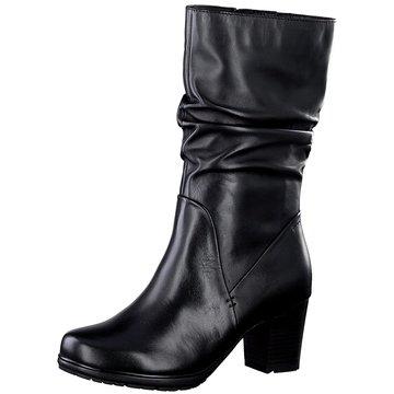 Jana Klassischer Stiefel schwarz
