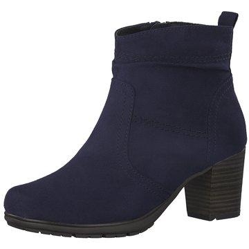 Jana Klassische Stiefelette blau
