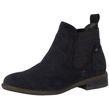 Be Natural Chelsea Boot blau