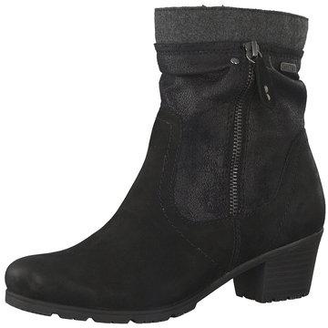 Jana Komfort Stiefelette schwarz