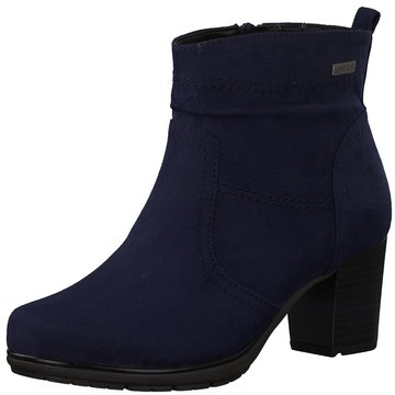 Jana Komfort Stiefelette blau