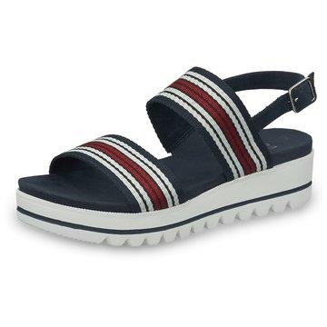 Jana Top Trends SandalettenDa.-Sandalette blau