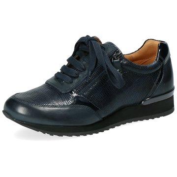 Caprice Komfort Schnürschuh blau