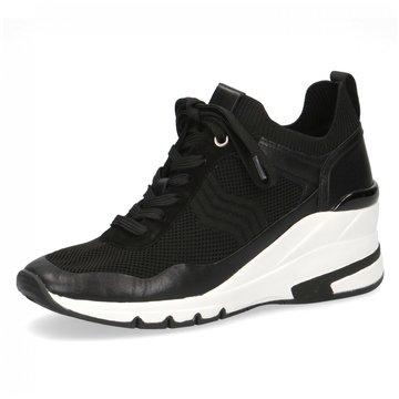 Caprice Sneaker Wedges schwarz