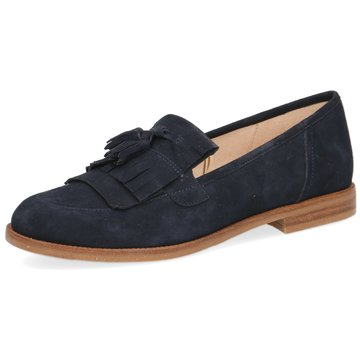 Caprice Komfort Slipper blau
