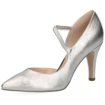 Caprice Top Trends Pumps silber
