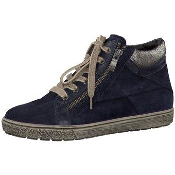 Caprice Sneaker High blau