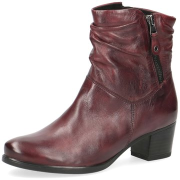 Caprice Komfort Stiefelette rot