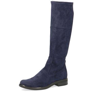 Caprice Klassischer Stiefel blau