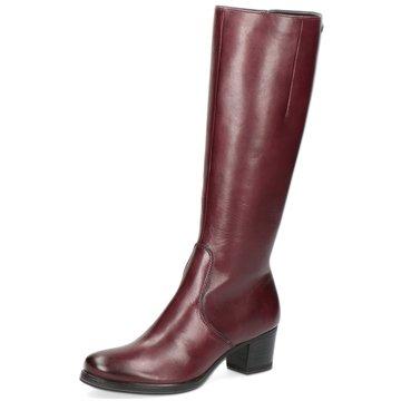 Caprice Klassischer Stiefel rot