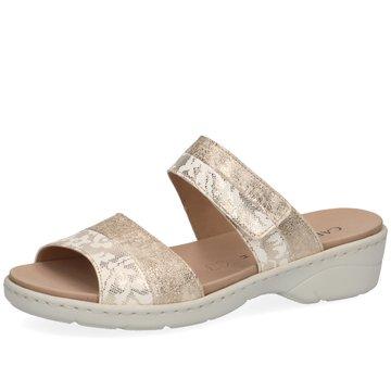 Caprice Komfort Sandale gold