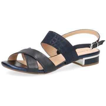 Caprice Sandale blau