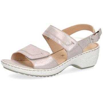 Caprice Komfort Sandale rosa