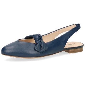 Caprice Sling Ballerina blau