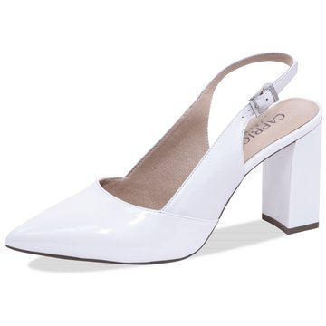 Caprice Top Trends Pumps weiß
