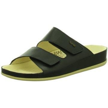 Vital Bequeme Sandalen schwarz