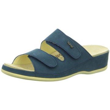 Vital Komfort Sandale blau