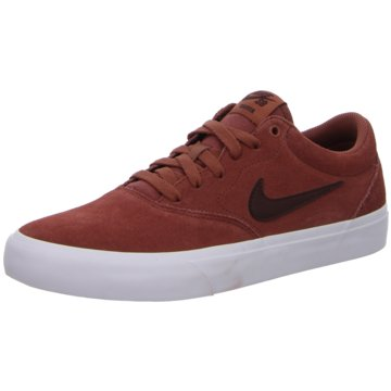 Nike Sneaker LowSB CHARGE SUEDE - CT3463-600 rot
