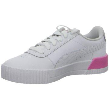 Puma Sneaker LowCARINA L JR - 370677 weiß