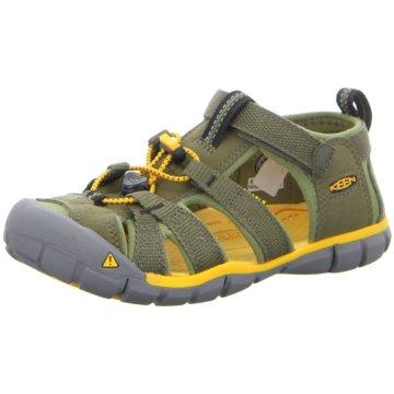 Keen Offene Schuhe oliv