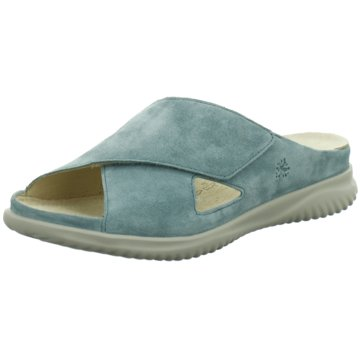 Hartjes Komfort Pantolette blau