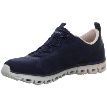 Skechers Sportlicher Slipper104195 blau