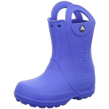 Crocs Gummistiefel blau