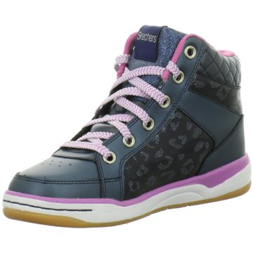 SKECHERS Sneaker High blau