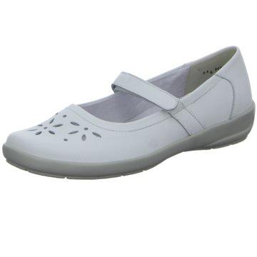 SEMLER Komfort SlipperFlora - H weiß