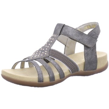 RIEKER TEENS Offene Schuhe silber