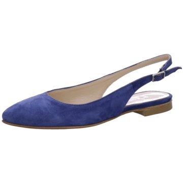 Gianluca Pisati Sling Ballerina blau