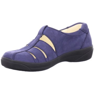 Dietz Komfort Slipper blau