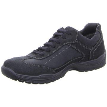 Ara Men Sportlicher Schnürschuh schwarz
