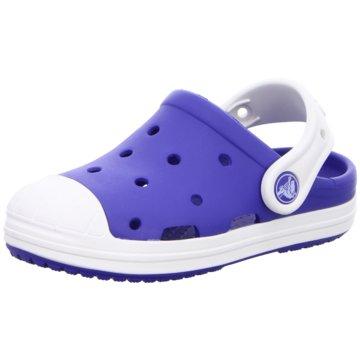 Crocs Pantolette blau