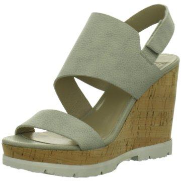 SPM KeilsandaletteLambo Sandal grau