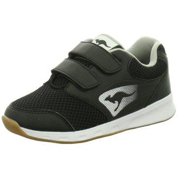 KANGAROOS Sneaker Low schwarz