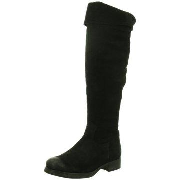 Lazamani Overknee Stiefel schwarz