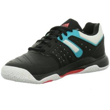 adidas Hallenschuhecourt stabil 12 W Damen Handballschuhe schwarz