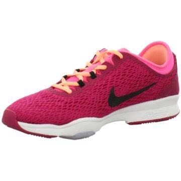 Nike TrainingsschuheZoom Fit Damen Trainingsschuh fuchsia pink