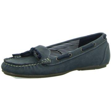 Idana Bootsschuh blau