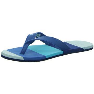 adidas Zehentrenner blau