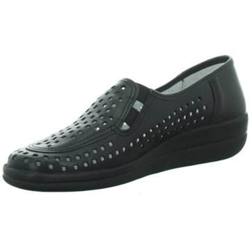 Longo Komfort Slipper schwarz