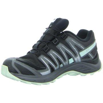 288ba2c5963e Salomon TrekkingschuheXA Lite GTX Damen Laufschuhe Trail-Running schwarz  blau schwarz